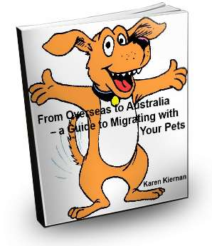 ebook cover Bringing Your Pet to Australia