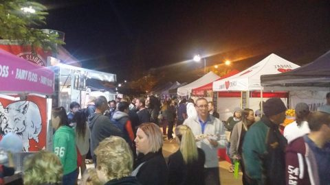 Raby Bay Twilight Markets Food